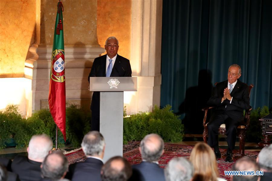 Portugal S New Government Inaugurated Xinhua English News Cn