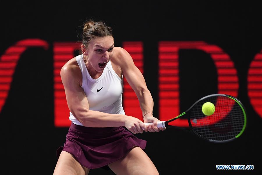 (SP)中国-深圳-网球-WTA巡回赛决赛-单打(中国)