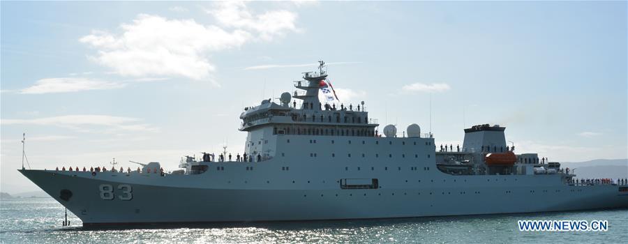 NEW ZEALAND-WELLINGTON-CHINA-NAVAL SHIP-VISIT