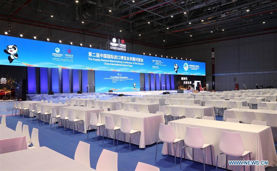 CHINA-SHANGHAI-CIIE VENUE-PREPARATION (CN)