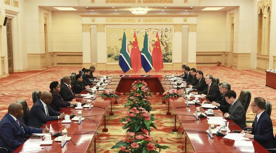 中国-北京-王岐山-非洲-双边国家委员会(CN)