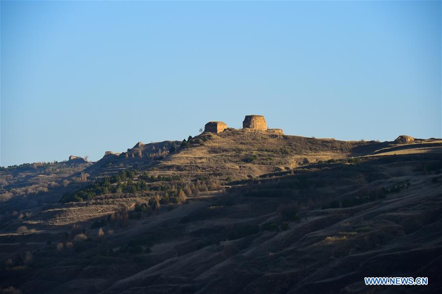 CHINA-INNER MONGOLIA-GREAT WALL OF THE MING DYNASTY (CN)