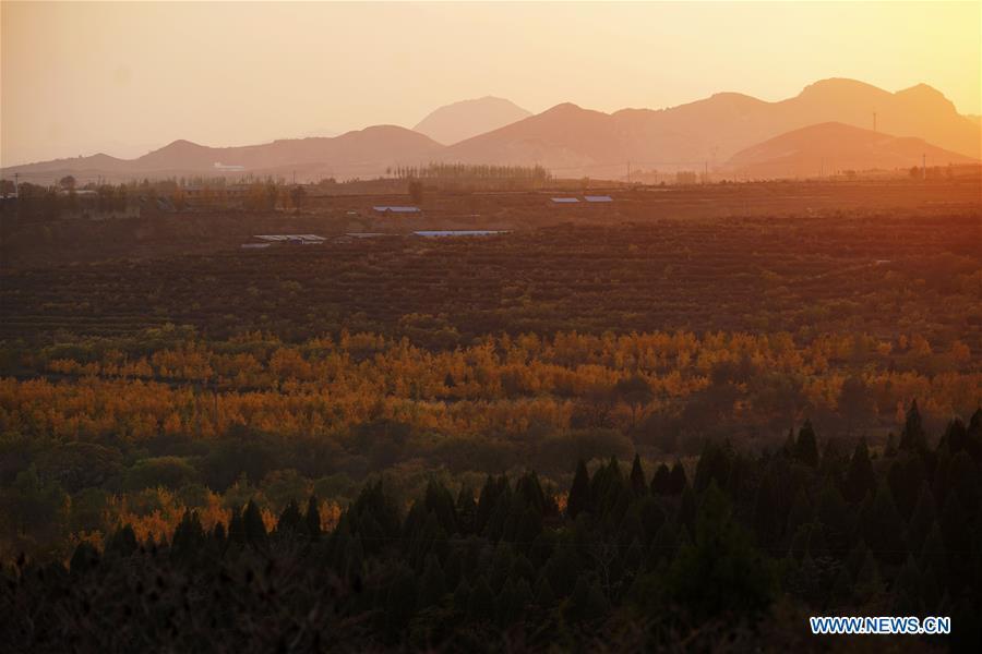 CHINA-HEBEI-TAIHANG MOUNTAINS-SCENERY (CN)