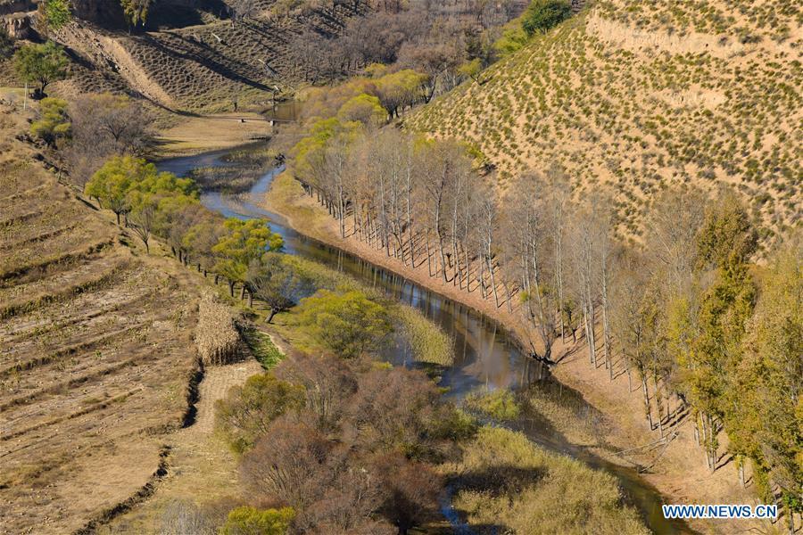 CHINA-INNER MONGOLIA-ORDOS-XARUSGOL RIVER (CN)
