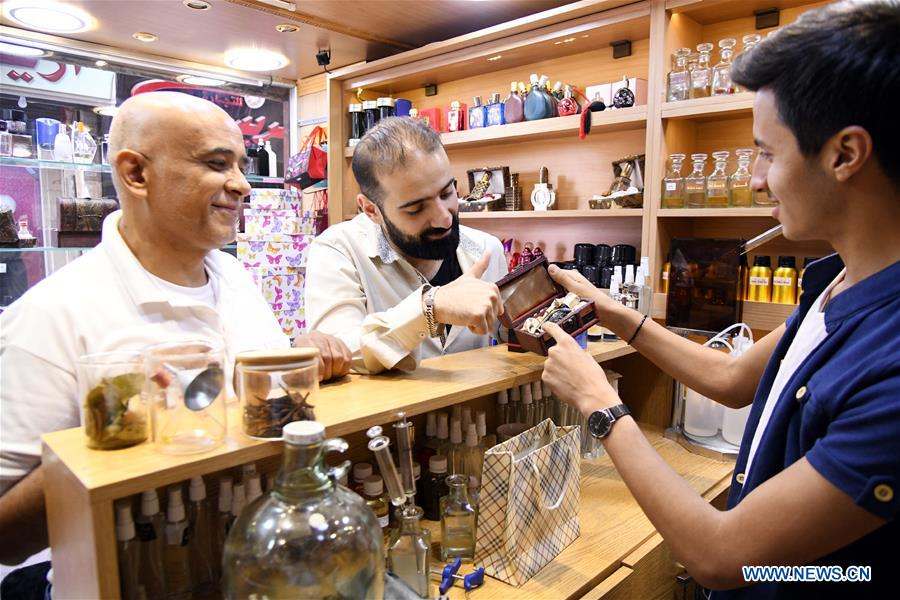 Image result for Feature: Young perfume maker sends Damascus renowned scent to world