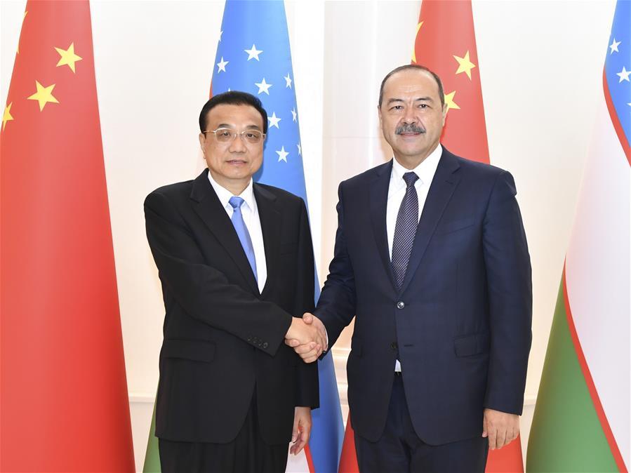UZBEKISTAN-TASHKENT-CHINA-LI KEQIANG-PM-TALKS