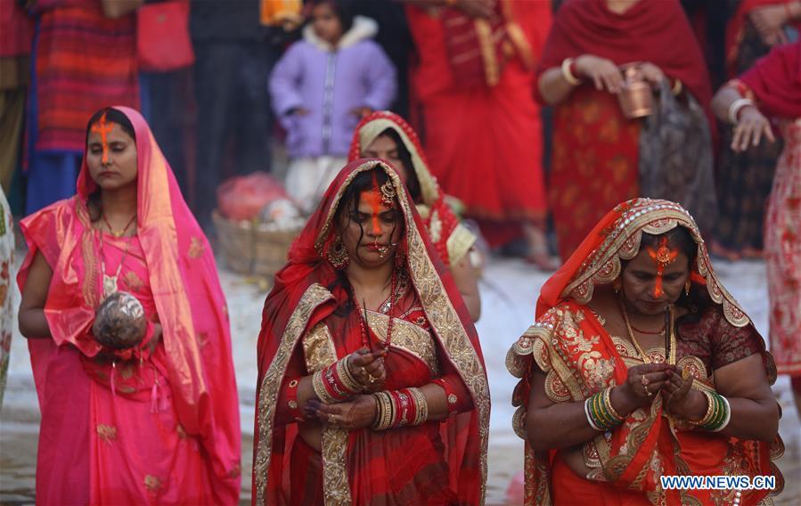 尼泊尔加德满都-节日庆祝活动