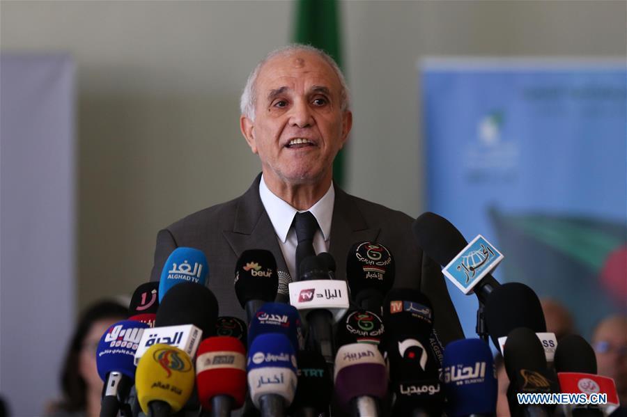 阿尔及利亚-总统选举候选人