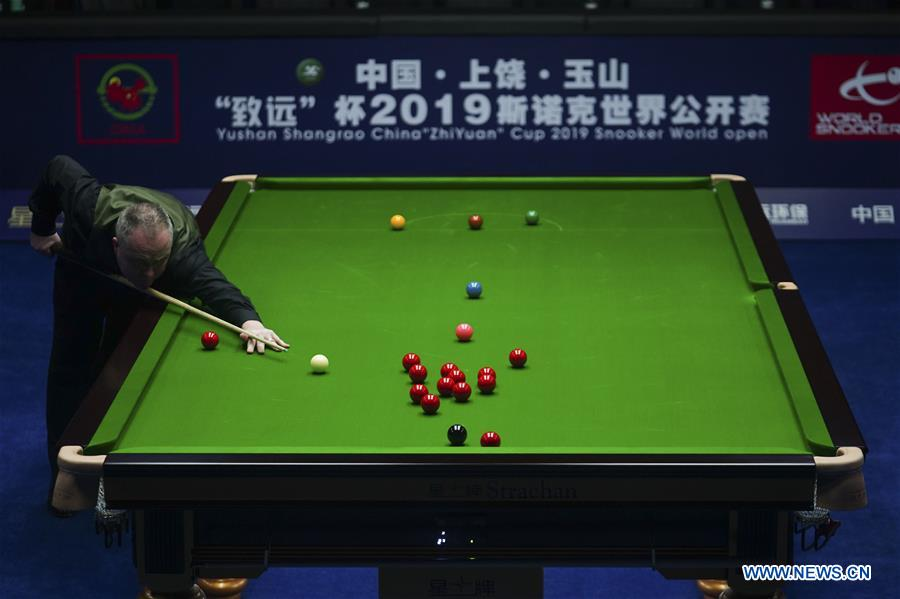 (SP)CHINA-YUSHAN-SNOOKER-WORLD OPEN(CN)