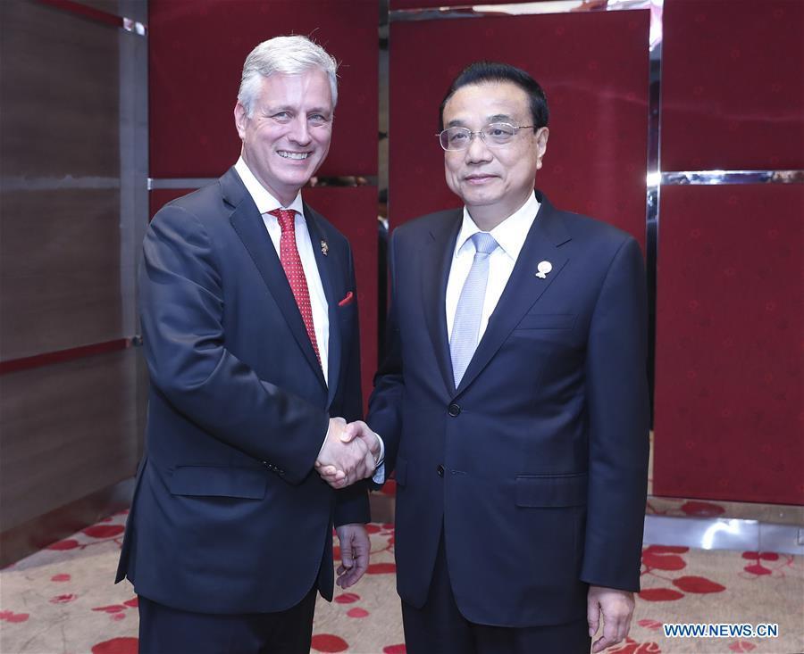 THAILAND-BANGKOK-CHINA-LI KEQIANG-U.S.-ROBERT O'BRIEN-MEETING