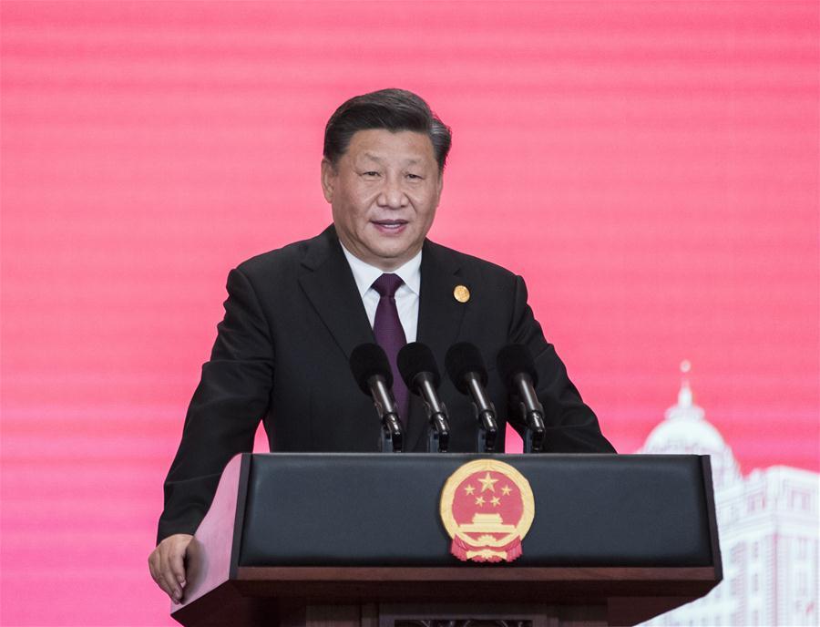 (CIIE)CHINA-SHANGHAI-XI JINPING-CIIE-BANQUET (CN)