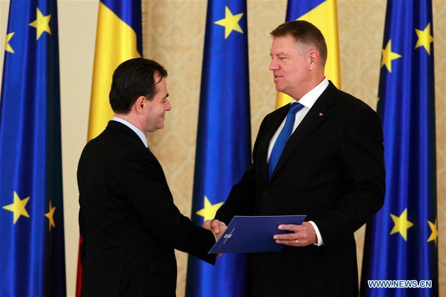 罗马尼亚-布加勒斯特-新政府成立
