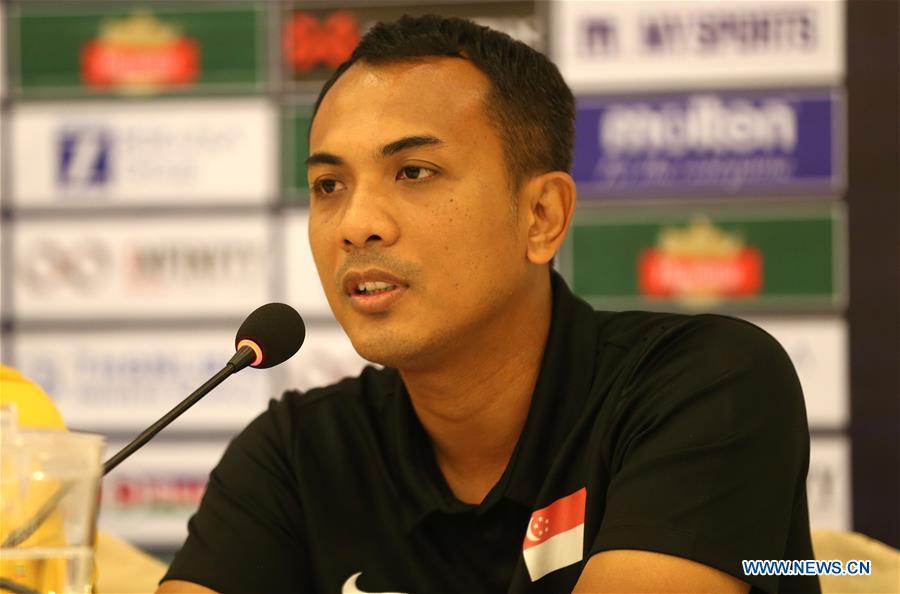 (SP)缅甸-仰光集团I-AFC U-19锦标赛资格赛-新闻发布会