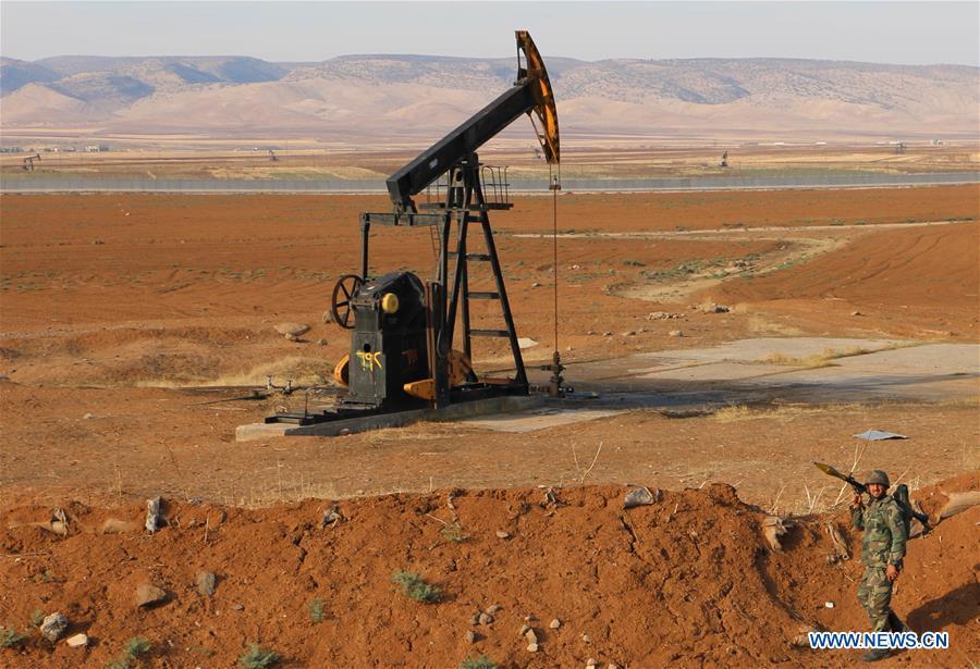 叙利亚-哈萨卡-军队-部署油田