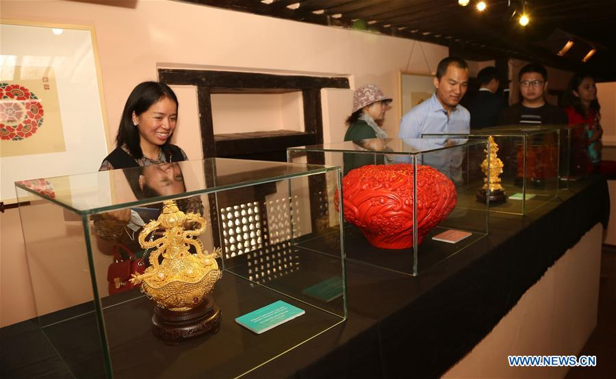 NEPAL-LALITPUR-CHINA-INTANGIBLE CULTURAL HERITAGE-EXHIBITION