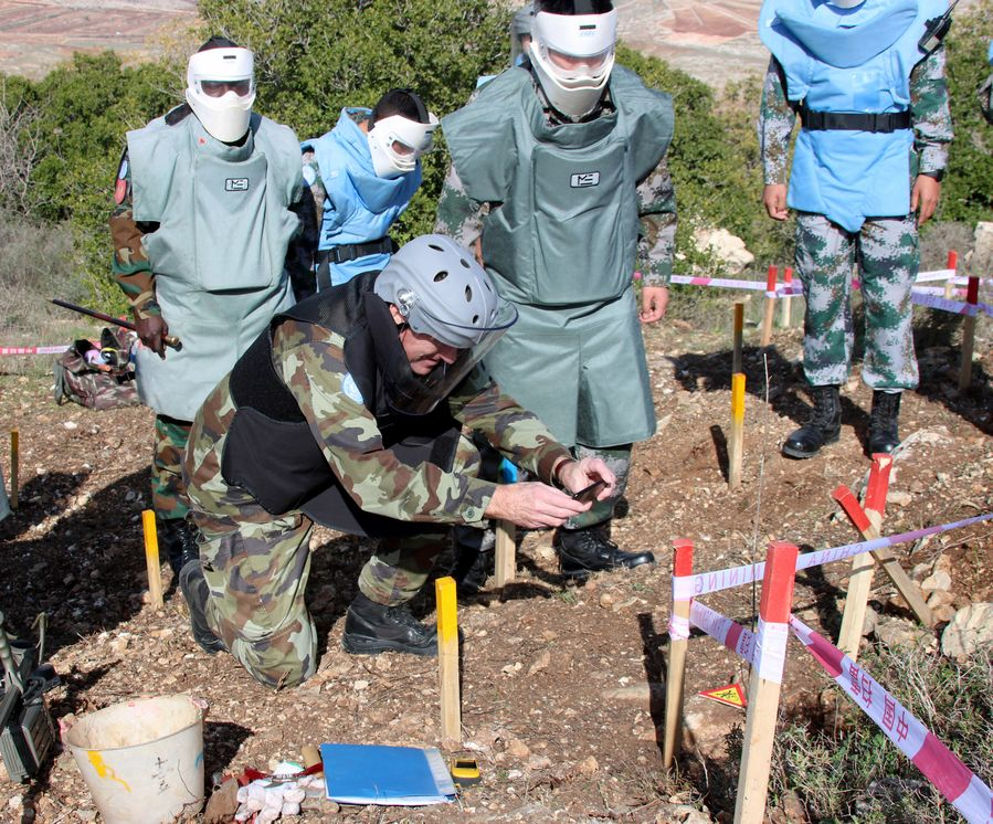 UN peacekeeping must follow principles: Chinese envoy - Xinhua | English.news.cn