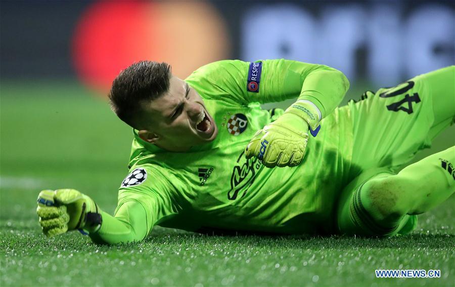 (SP)克罗地亚-萨格勒布-足球-UEFA冠军联赛-迪纳莫·萨格勒布VS莎克塔·顿涅茨克