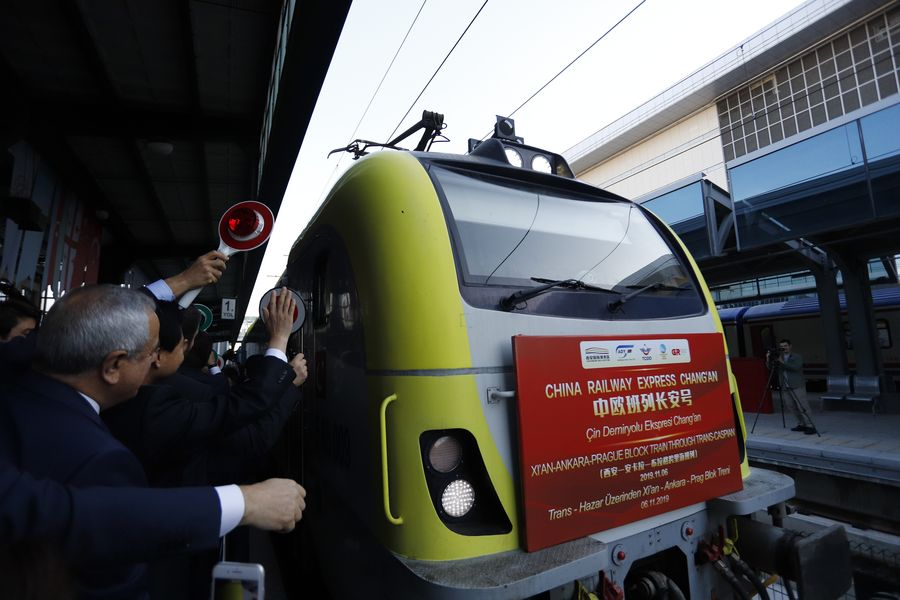 Turkey welcomes first freight train travelling from China to Europe - Xinhua | English.news.cn