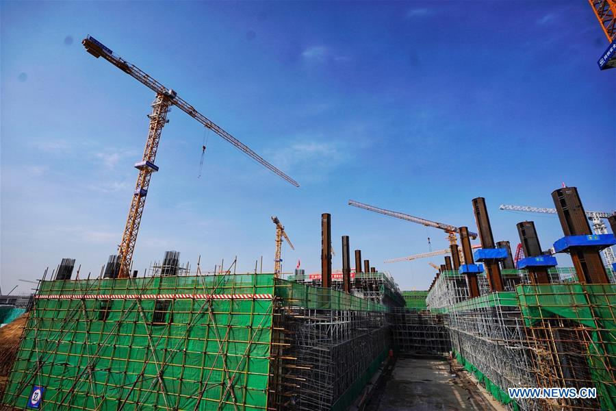 CHINA-HEBEI-INTER-CITY RAILWAY-XIONGAN STATION-CONSTRUCTION (CN)