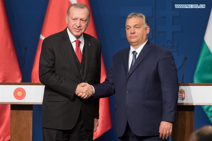 HUNGARY-BUDAPEST-TURKEY-PRESIDENT-VISIT