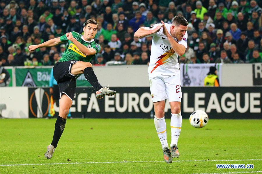 Monchengladbach Grab Late   Win Over As Roma Gent Upset