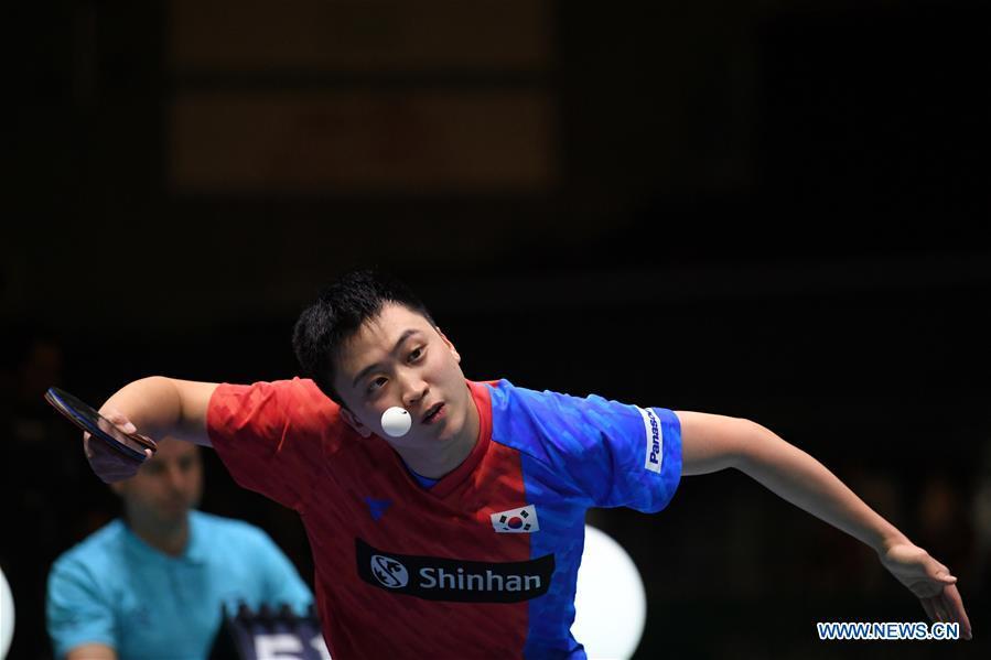 (SP)日本-东京-桌网球-ITTF球队世界杯