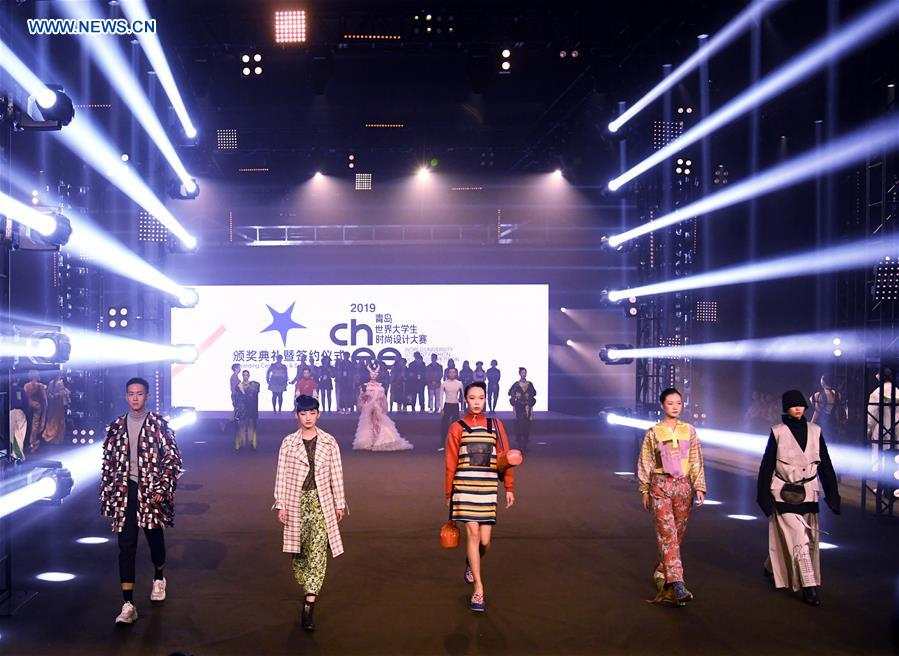 World University Student Fashion Design Competition Concludes In Qingdao Xinhua English News Cn