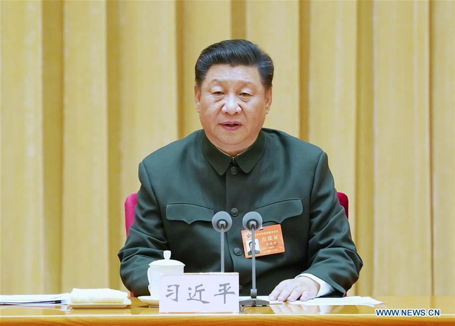 CHINA-BEIJING-XI JINPING-CMC-MEETING (CN)