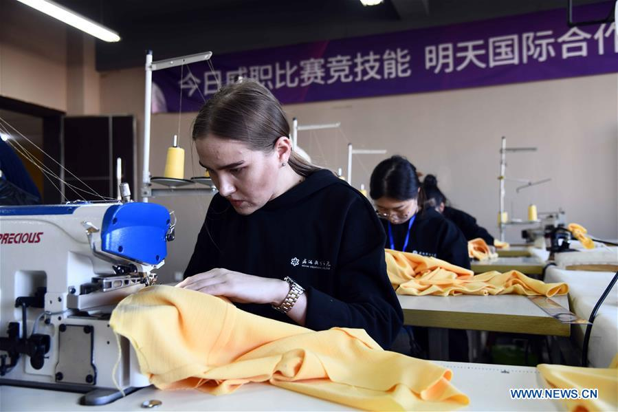 SCO Countries Vocational Skills Contest Kicks off in China's Shandong