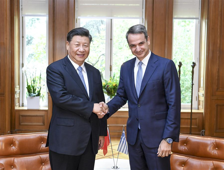 Xi Calls for Strengthening China-Greece Practical Cooperation
