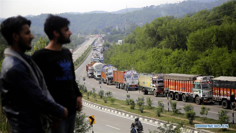 克什米尔-贾木高速公路-封闭