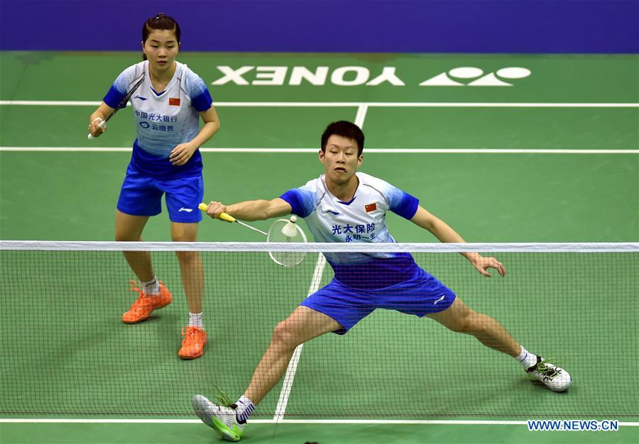 (SP)中国香港-巴明顿-香港公开赛(中国)