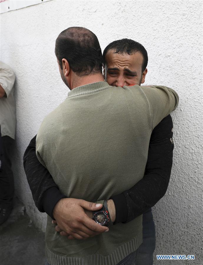 中東加沙葬禮