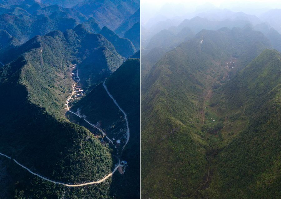 Villagers in remote mountains of S China benefited from newly built roads - Xinhua | English.news.cn