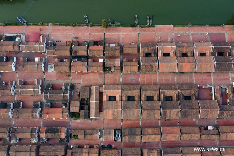CHINA-FUJIAN-DAIMEI VILLAGE-AERIAL VIEW (CN)