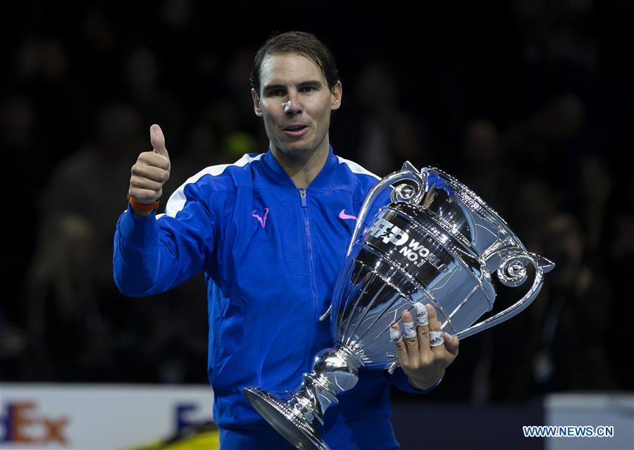 (SP)BRITAIN-LONDON-TENNIS-ATP FINAL-DAY 6