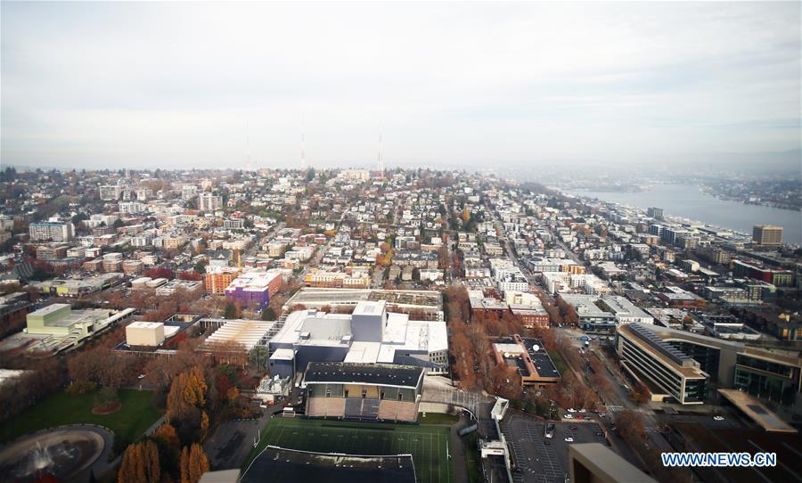 美国西雅图市景