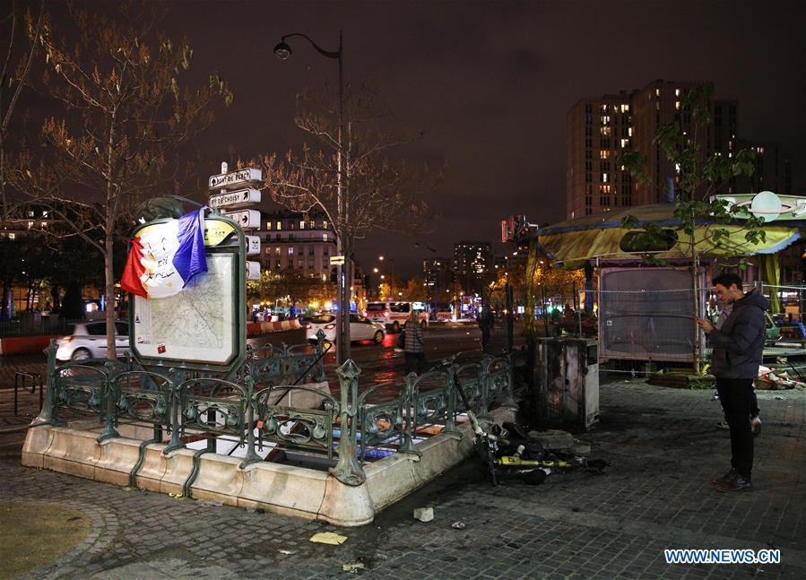 FRANCE-PARIS-YELLOW VEST-ANNIVERSARY