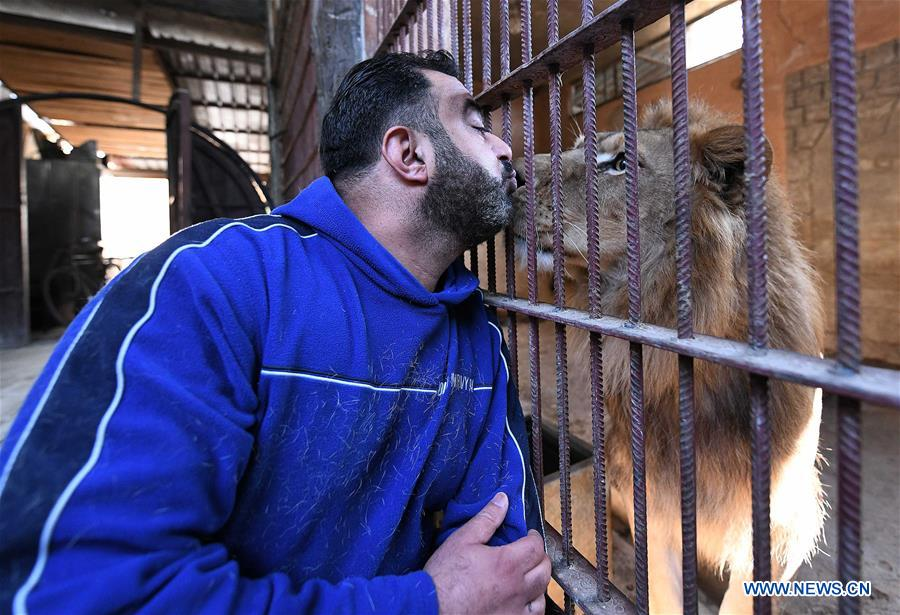 SYRIA-DAMASCUS-ANIMAL COLLECTOR