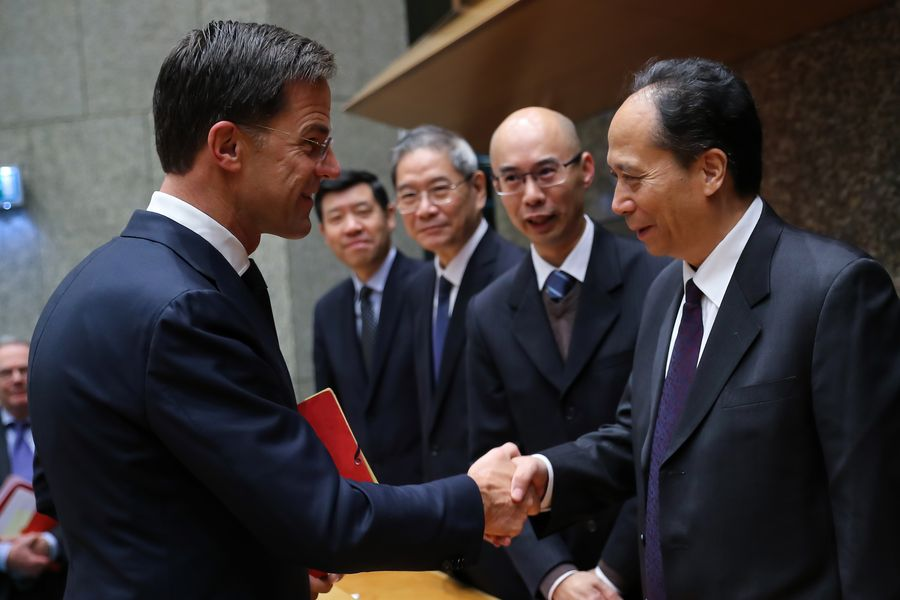 China, Netherlands poised to strengthen bilateral relations: senior legislators - Xinhua | English.news.cn