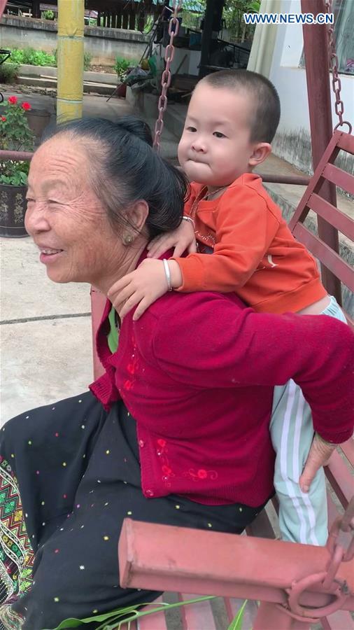 CHINA-YUNNAN-MENGLA-DAI FAMILY-DAILY LIFE (CN)