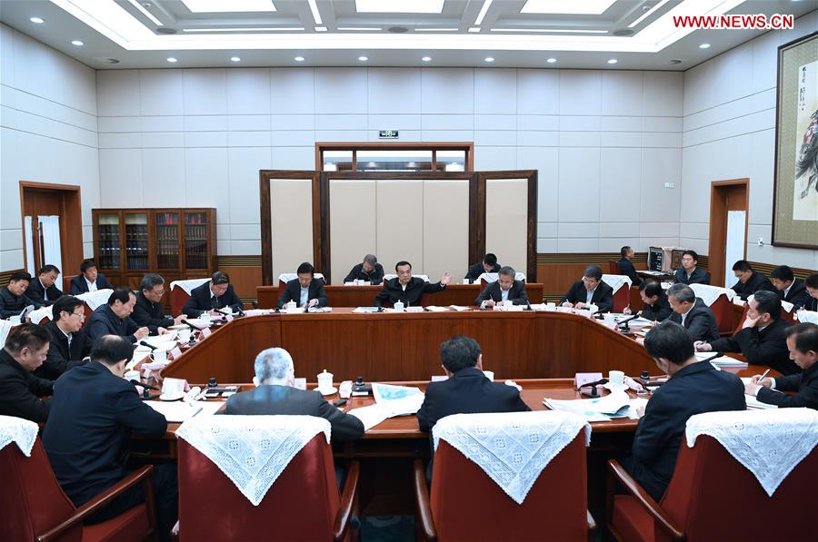 CHINA-BEIJING-LI KEQIANG-WATER DIVERSION PROJECT-MEETING (CN)