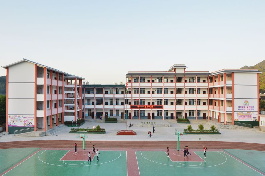 Across China: Rural schools make children feel home away from home - Xinhua | English.news.cn