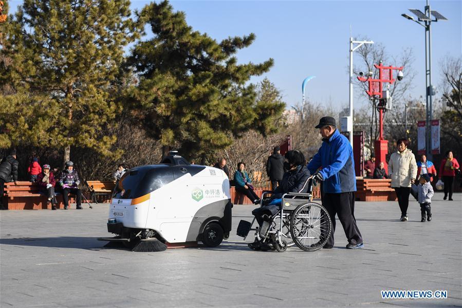 CHINA-INNER MONGOLIA-HOHHOT-CLEANING ROBOT (CN)