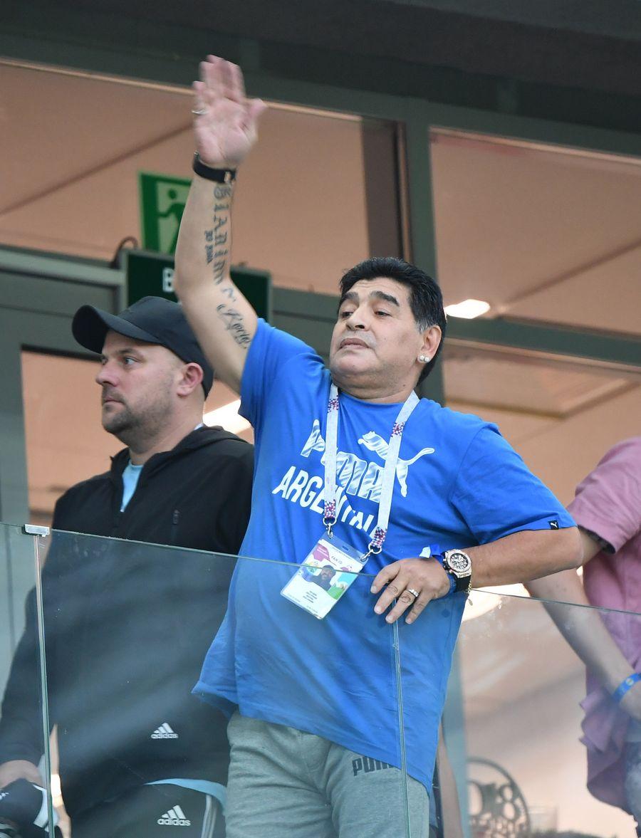 Maradona Returns As Gimnasia Boss Xinhua English News Cn