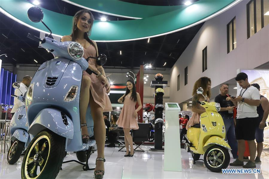 Trade Motorcycle For Car >> Motorcycle Trade Show Held In Sao Paulo Xinhua English