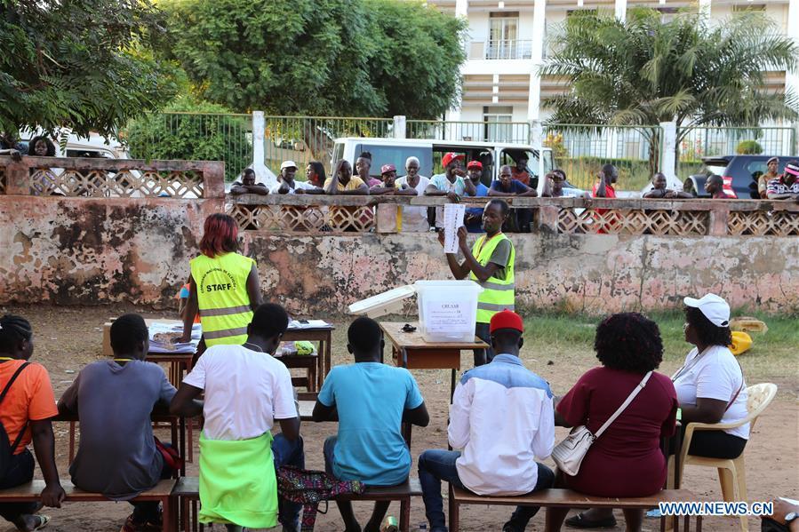 几内亚-比绍-比绍总统选举-大规模投票