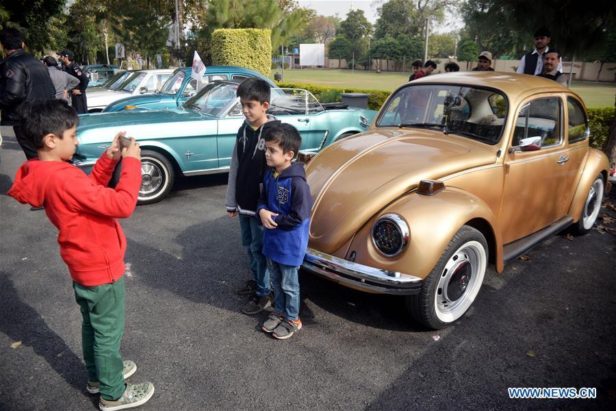 PAKISTAN-PESHAWAR-VINTAGE CAR-RALLY