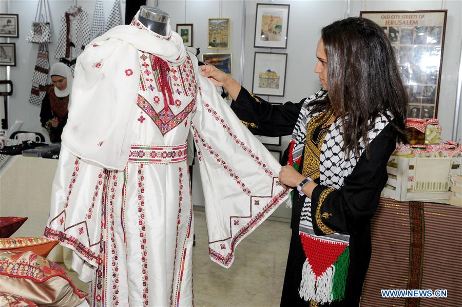 Palestinian Cultural Exhibition Held In Kuwait Xinhua English News Cn