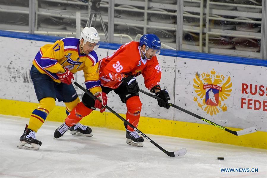 丝绸之路高级曲棍球联赛:中国的千头vs俄罗斯的希米克